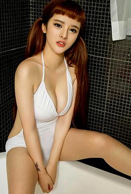 模特美女杨漫妮大胆人体艺术写真