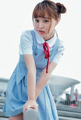 学生制服美女柳侑绮清纯唯美写真