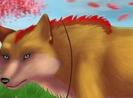 雪狐狸图片 卡通狐狸图片