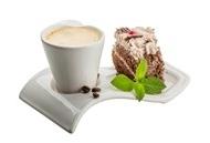 巧克力蛋糕点心图片 咖啡杯子与巧克力蛋糕摄影高清图片