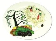 霸柳风雪中式菜品美食素材图片