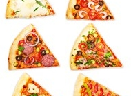 披萨饼菜单图片