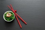 三文鱼寿司图片 美味的三文鱼寿司摄影图片