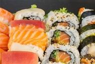 日本寿司摆盘图片 美味的日本寿司高清图片合辑