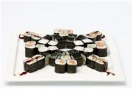 日本寿司小拼盘图片 好吃的日本寿司美食高清图片