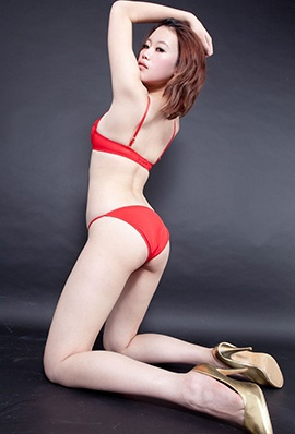 台湾beautyleg腿模Stacy内衣写真美腿迷人