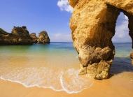 葡萄牙奇观阿尔加维洞穴素材风景图片桌面壁纸