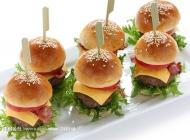 美味汉堡包素材