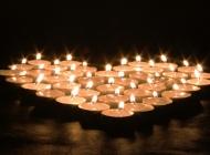 蜡烛的图片桌面壁纸之爱心