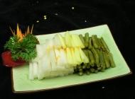 云南包菜凉菜系列美食素材图片