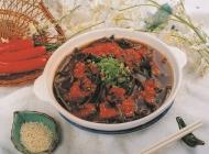美味蕨根粉凉菜系列美食素材图片