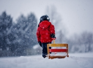 唯美意境雪景图片 冬季雪景唯美意境宽屏高清壁纸