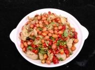 西万生菜沙拉凉菜系列美食素材图片
