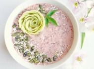 水果奶昔图片 自制水果