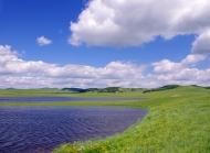 乌兰布统坝上草原风光