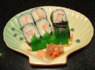 蟹肉卷日式韩式美食素材