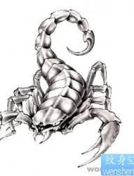 纹身520图库:蝎子纹身图片图案