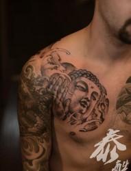 很奇特的9张个性艺妓纹身图片赏析-26abc图片大全
