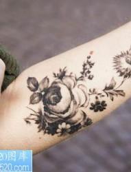 小清新纹身-简单中透露出的个性小清新小图案纹身图片图片