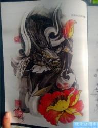 传统年鉴纹身手稿(6)