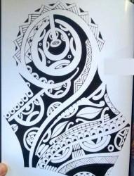 传统年鉴纹身手稿(16)