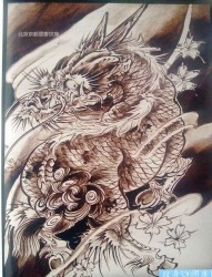 传统年鉴纹身手稿(131)