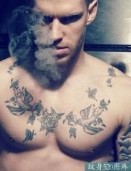 8张好看的适合男性的纹身图集欣赏