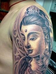 经典菩萨纹身 手稿欣赏