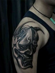 般若纹身作品手稿欣赏