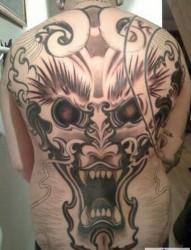 男人的最爱  霸气满背纹身