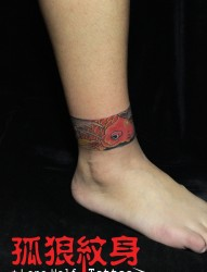 蕾丝臂环:给女生增加性感的手蕾丝手环臂环纹身图案