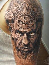 多款男性帅气的花臂纹身图案