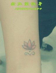 莲花纹身  金左堂纹身 盖疤痕 修改纹身 安阳纹身 水冶纹身
