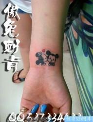 米老鼠纹身图片