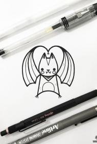 卡通神奇宝贝纹身tattoo图案手稿