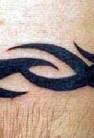 部落手镯简约图腾纹身图案
