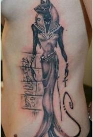 埃及神像纹身图案
