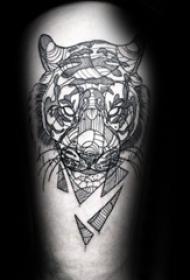 纹身老虎  凶猛个性的老虎纹身图案
