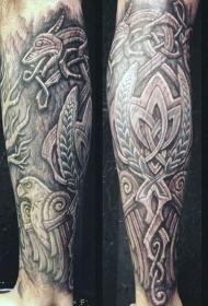 纹身树木的图像  古朴的树木图像纹身图案