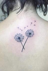 蒲公英纹身   唯美至极的蒲公英纹身图案