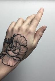 手背纹身   多款个性亮眼的手背纹身图案