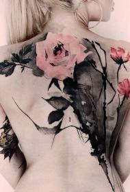 时尚纹身图案   多款淡雅的时尚纹身图案