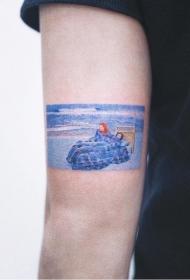 纹身 电影   多款时尚而又别致的电影场景纹身图案