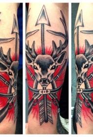 百乐动物纹身   多姿多彩的动物纹身图案