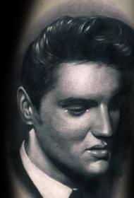 纹身人物图片   多款素描写实的人物肖像纹身图案
