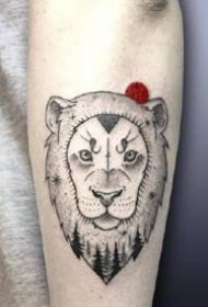 黑色简约纹身-简约不简单的黑色纹身图