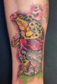彩色动物纹身-色彩丰富的彩色小动物纹身图纹身