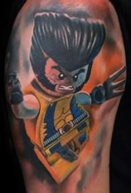 有趣的纹身   趣味十足的乐高玩具纹身图案