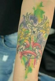 动物纹身图案-10张身体