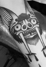 蝙蝠纹身图案-10张迅猛